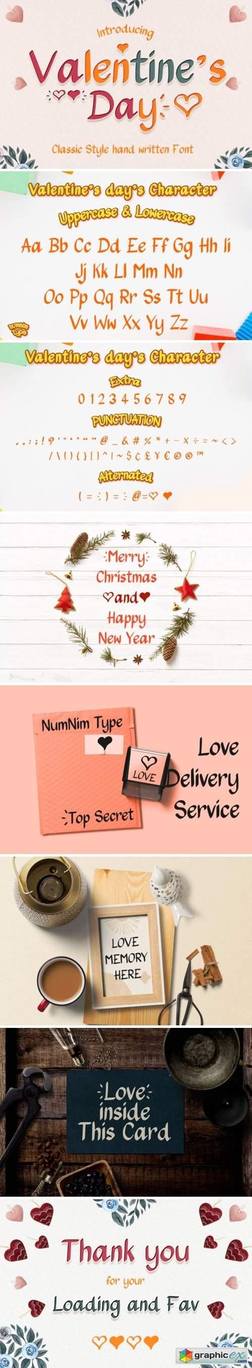 Valentine's Day Font