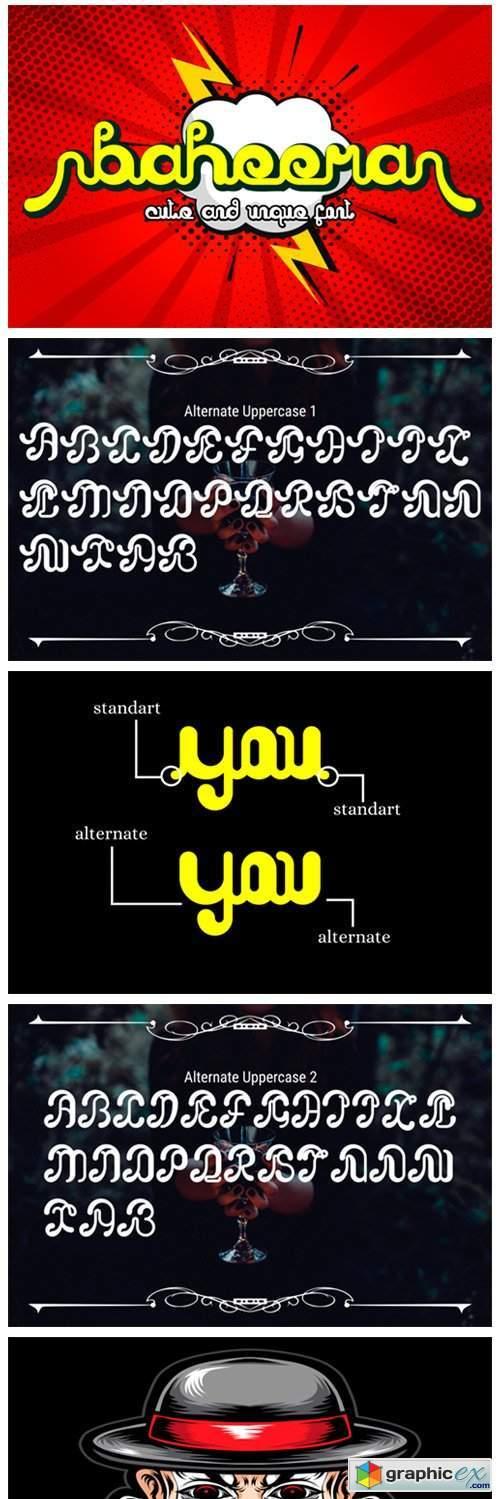 Baheera Font