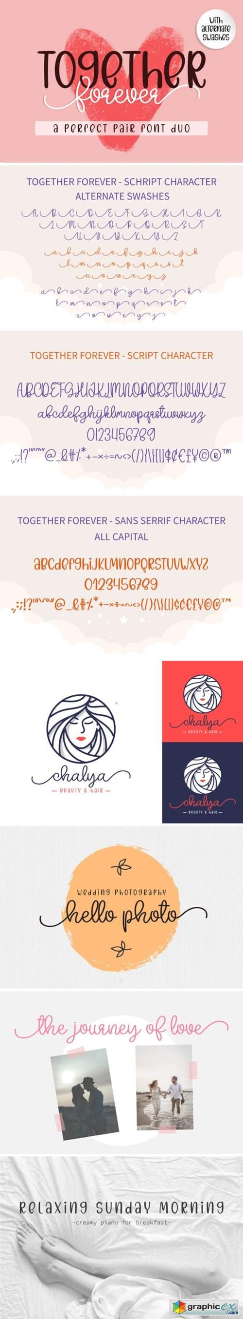 Together Forever Font