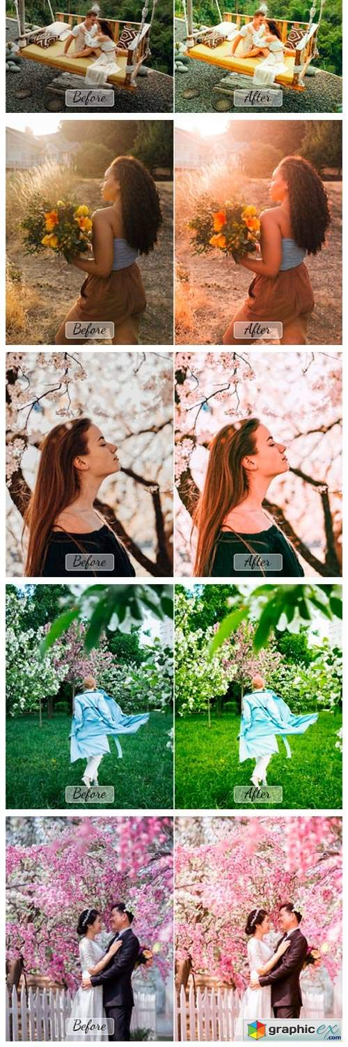Pro Spring Photoshop Actions, ACR, LUTs