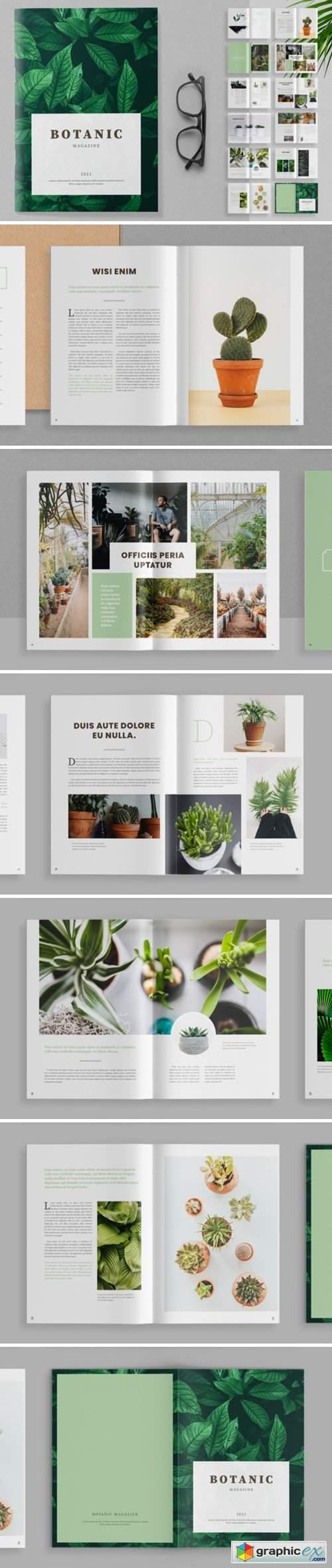 Botanic Magazine Template