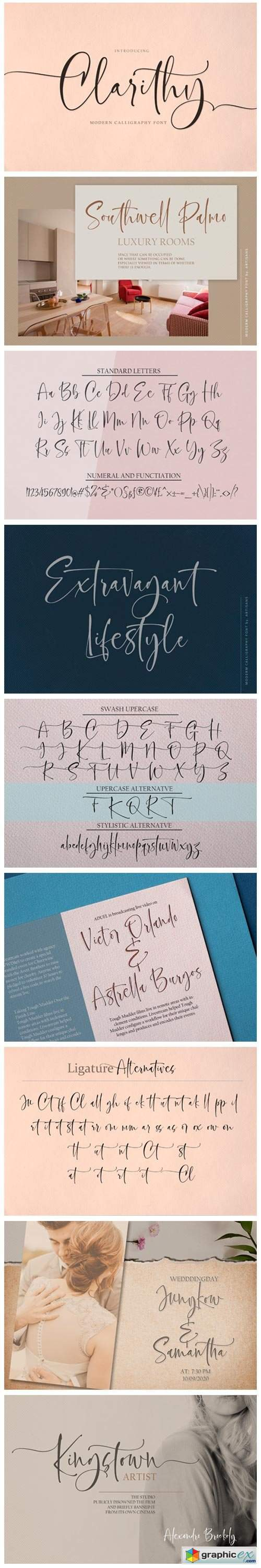 Clarithy Font
