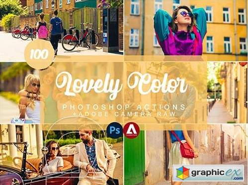 Lovely Color Photoshop Actions