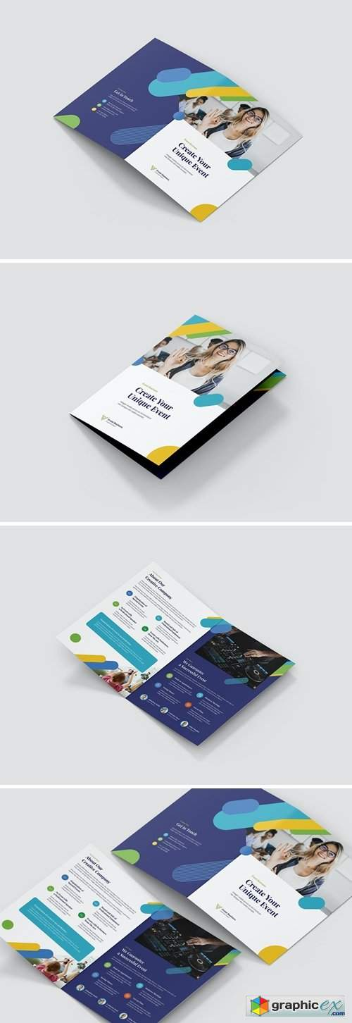 Brochure – Event Business Bi-Fold