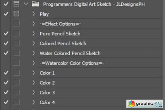 Programmers Digital Art Sketch PSA