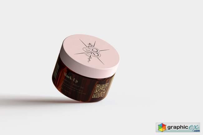 Amber Cosmetics Pot Mock-Up | Vol.1