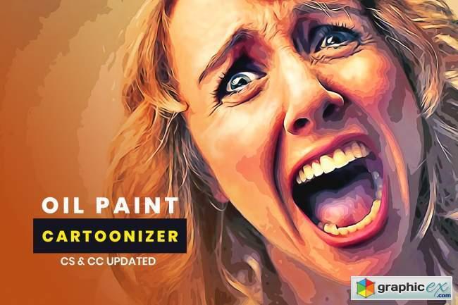 Oil Paint Cartoonizer