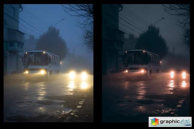 Dark street presets