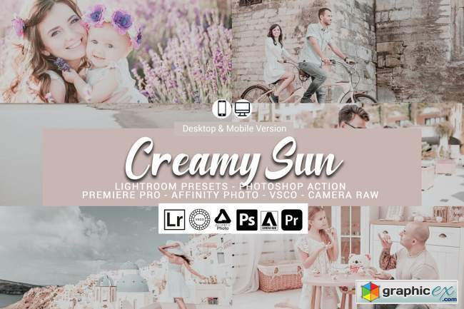Creamy Sun Presets