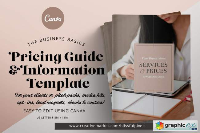 Pricing Guide & Info Template