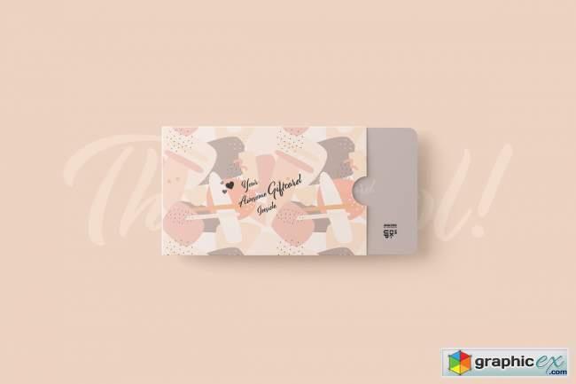 Gift Card Mockup 5752504