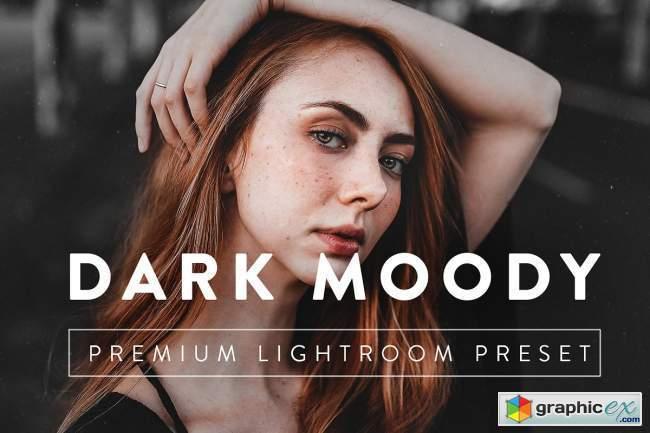 DARK MOODY Pro Lightroom Preset