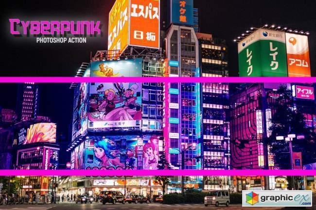 Cyberpunk | PSD action