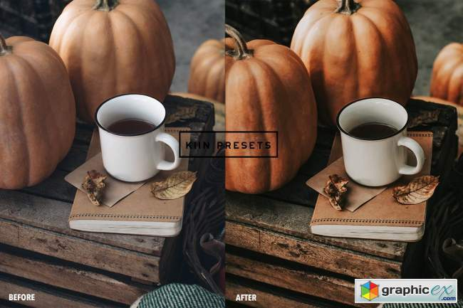 6 APPLE PIE LIGHTROOM PRESETS