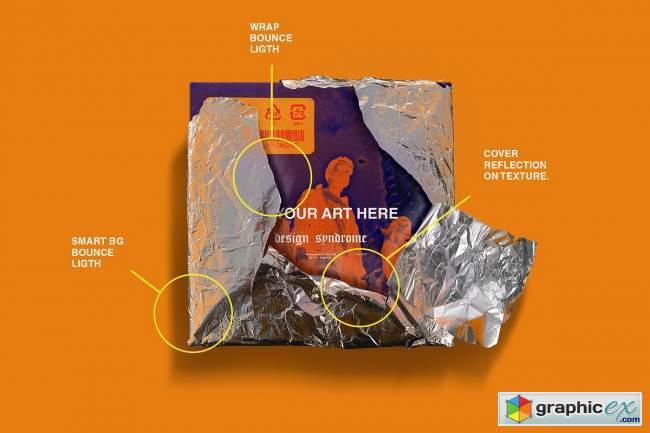 Metallic Wrap Mockup Pack
