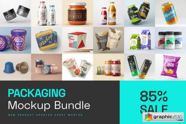 Packaging Mockup Bundle