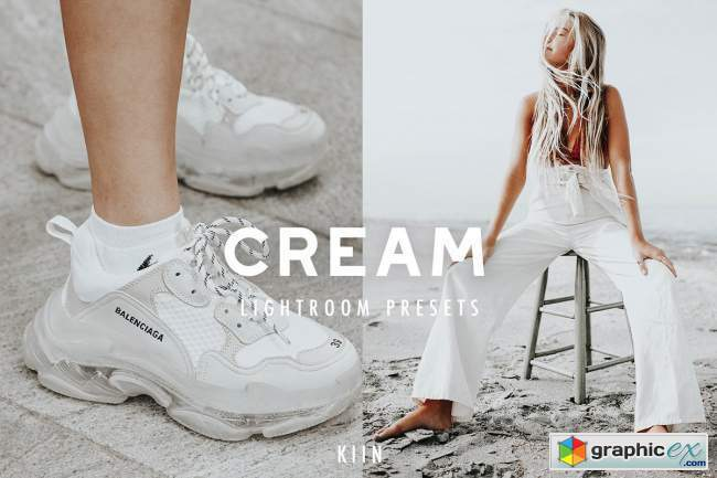 8 CREAM LIGHTROOM PRESET FILTERS