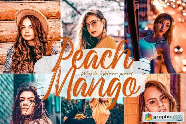 Peach Mango Lightroom Presets