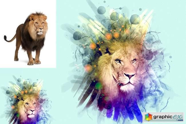 Paint Photoshop Action 5