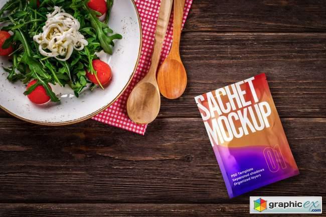 Sachet Mockup Set