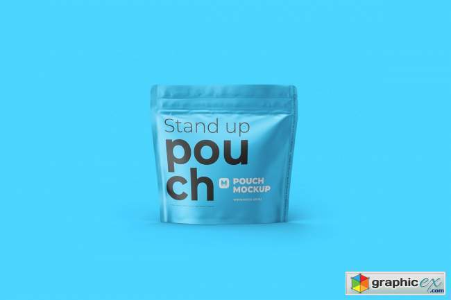 Stand-up Pouch Mockup (square) 4763378
