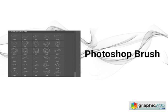 Abstract Brush Transparent PNG