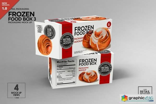 Retail Frozen Food Packaging3 Mockup