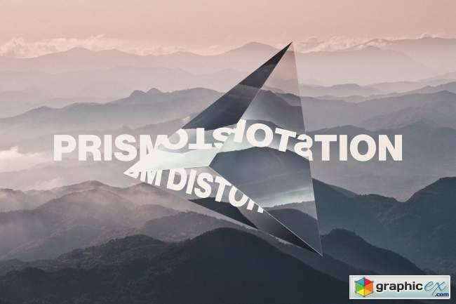 Prism Lens Distortion Photo Effect