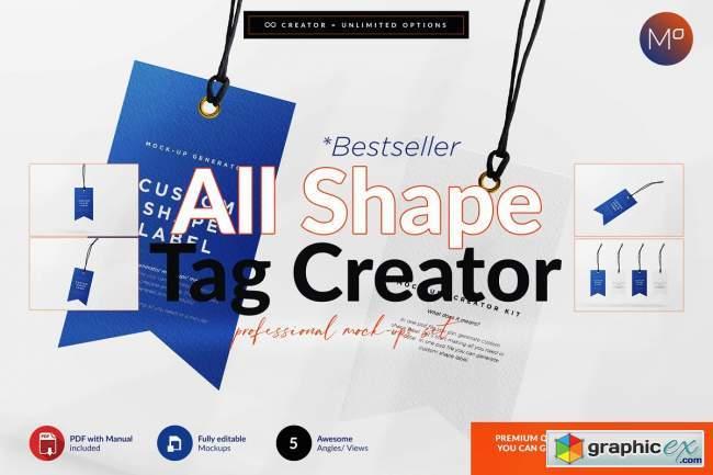 All Shape Tag Creator Mock-up