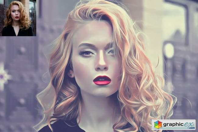 Digital Art Photoshop Action 5731809