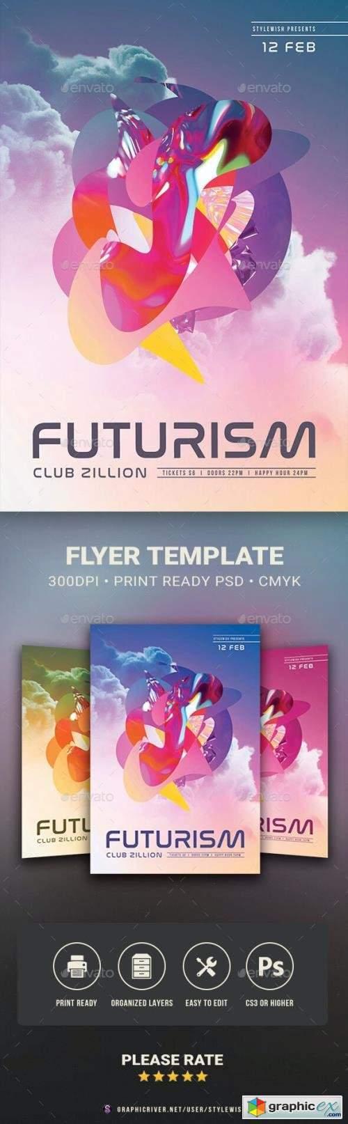 Futurism Flyer