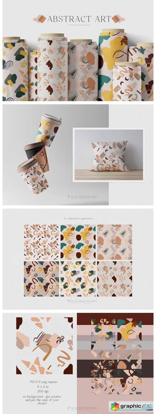 Abstract Seamless Patterns JPEG PNG