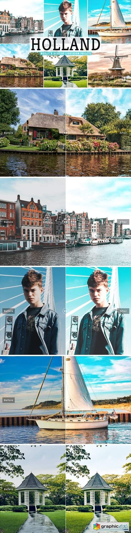 Holland Mobile & Desktop Lightroom Presets