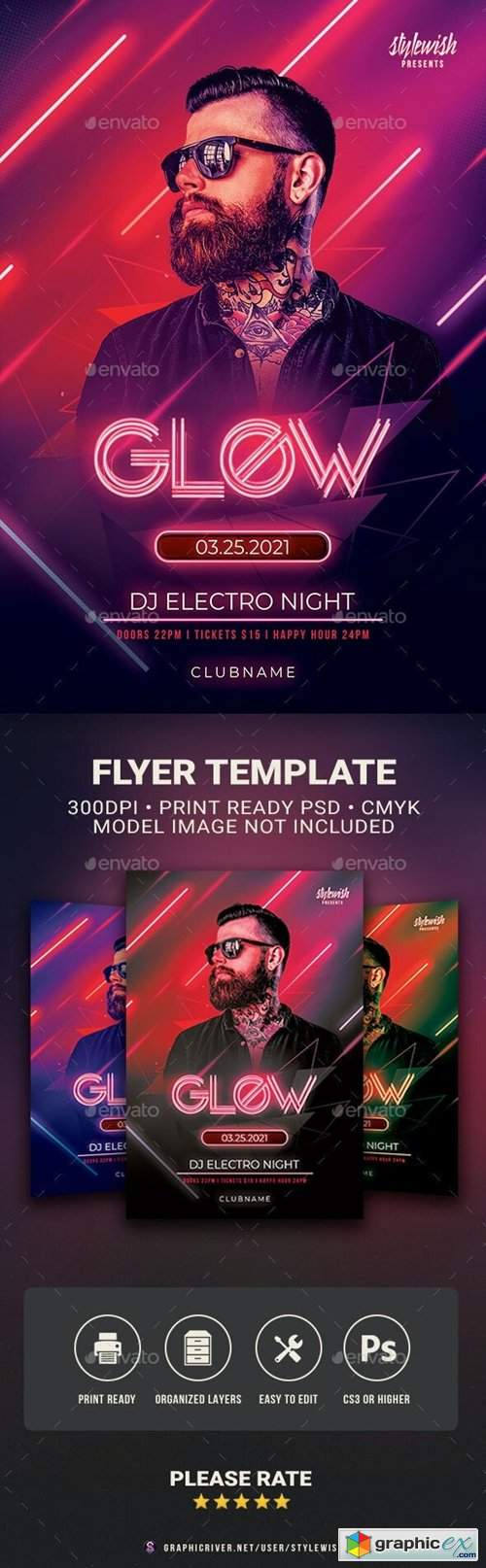 Glow Flyer 30358268