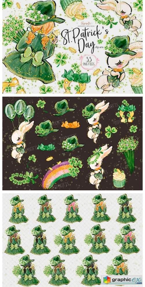 St.Patrick's Day Clip Arts