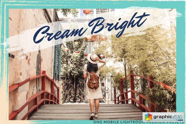 CREAMY BRIGHT MOBILE LIGHTROOM