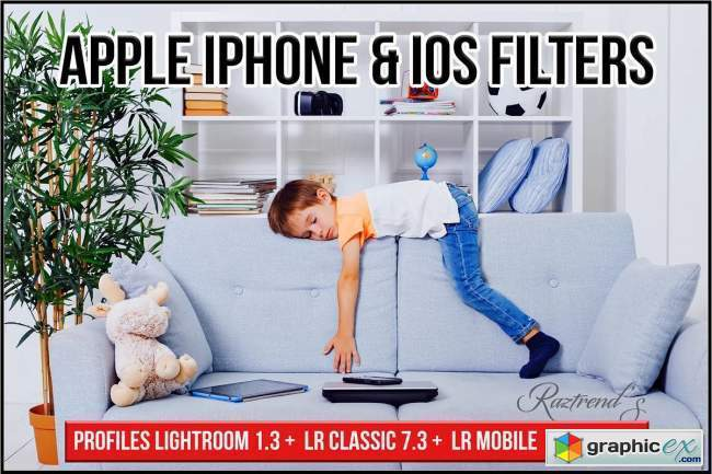 Apple iPhone & iOS Filters profiles