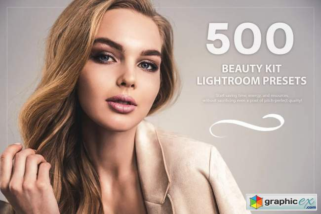 500 Beauty Kit Lightroom Presets 5776914