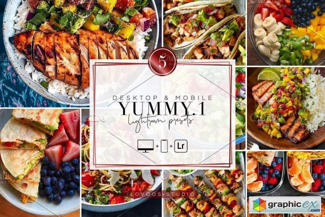 YUMMY VOL.1 - Lightroom Presets
