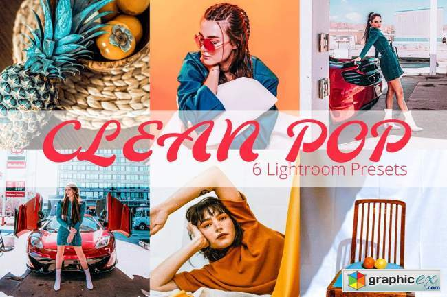 Clean Pop - Lightroom Preset Pack