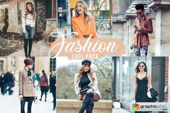 Fashion LUTs | Fashion Video filters