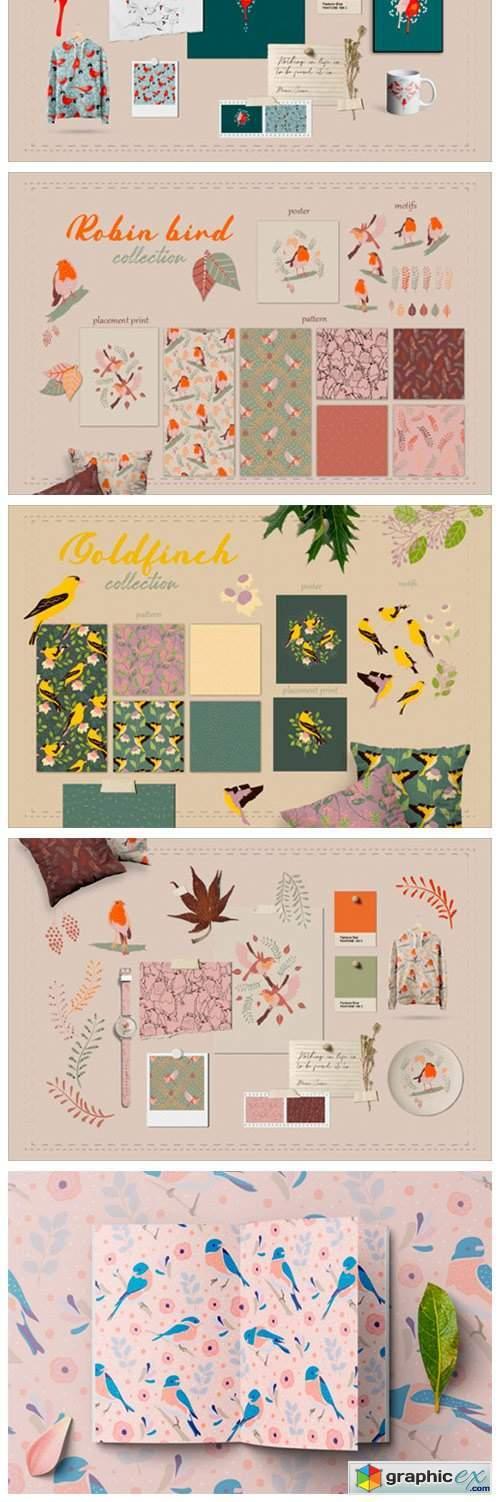 Backyard Birds Collections