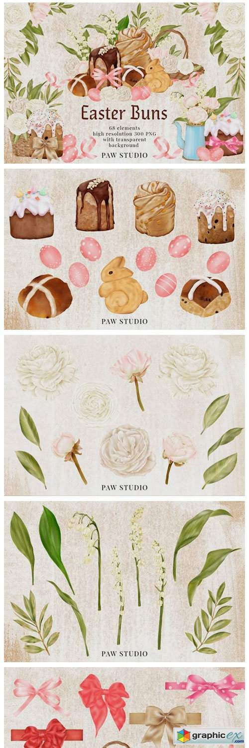 Easter Clipart Lily of the Valley Roses