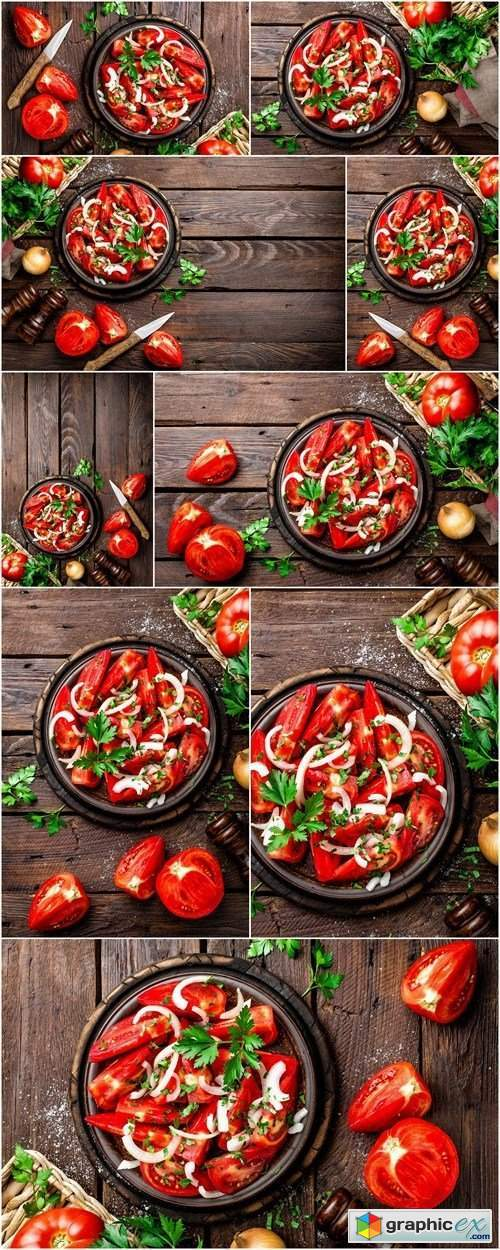Tomato salad - 9xHQ JPEG