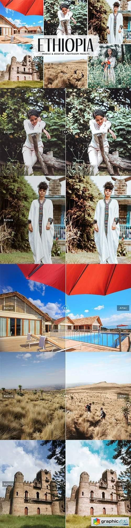 Ethiopia Mobile & Desktop Lightroom Presets