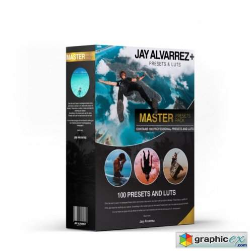 Jaycolor - Master Pack: 100 Presets and LUTs