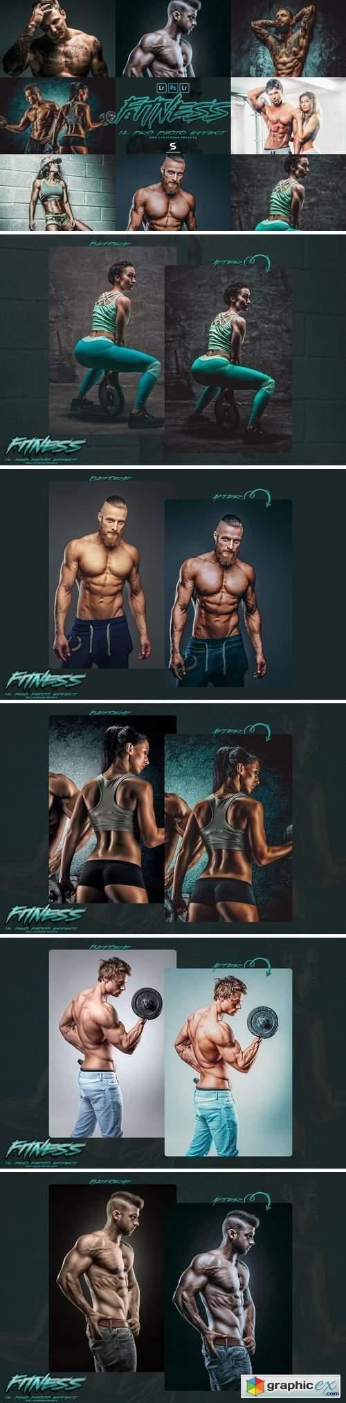 PRO Fitness Image Lightroom Presets