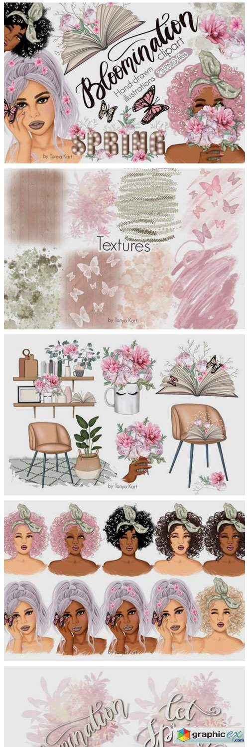 Bloomination Clipart