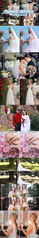 Cinematic Wedding LUTs Bundle