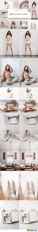 12 x Lightroom Minimalistic Nude